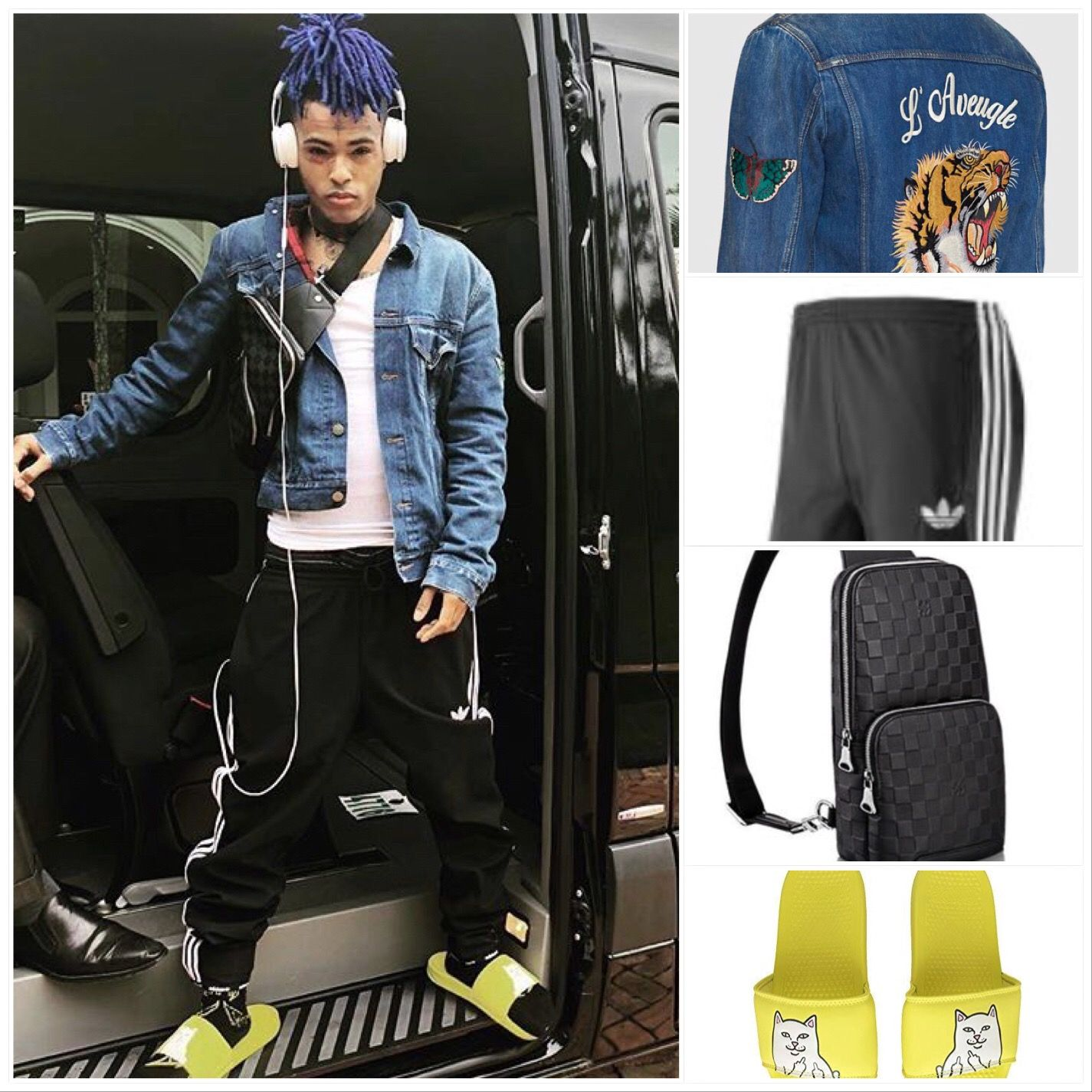 spelloutdye • Instagram photos and videos  Rapper outfits