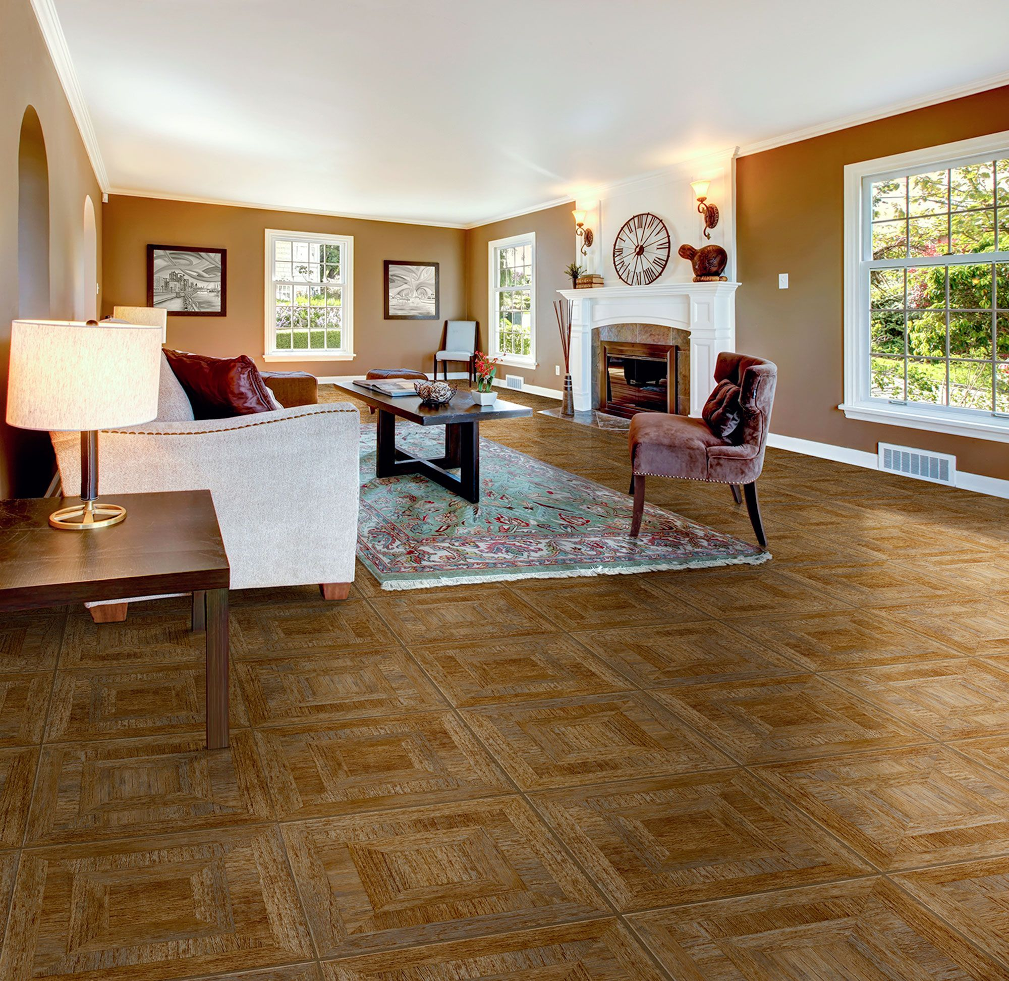 Woodstock groovy congoleum duraceramic luxury vinyl flooring with the look of real ceramic luxury vinyl tile has become extremely popular see all the latest lvt fashions at our chicago flooring store locations doublecrazyfo Images