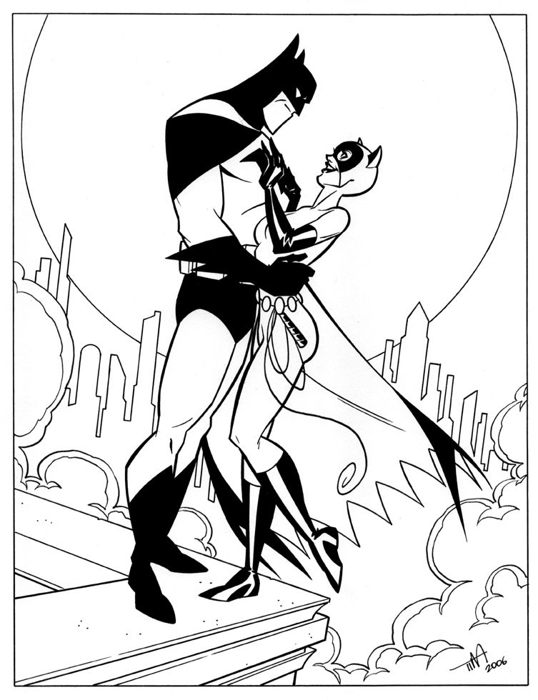 Catwoman & Batman by Tim Levins | Comics | Pinterest | Batman ...