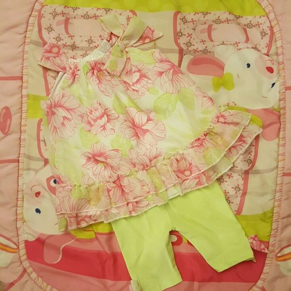 Gorgeous  2 peice set dress for baby girl Only worn once FAO Dresses