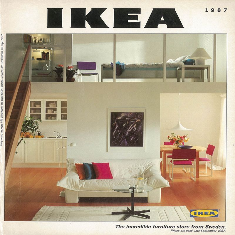 The 1987 IKEA Catalogue Cover