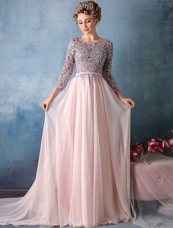Ballkleid 2017 Abeer | Kleider | Pinterest | Prom, Gowns and Chiffon ...