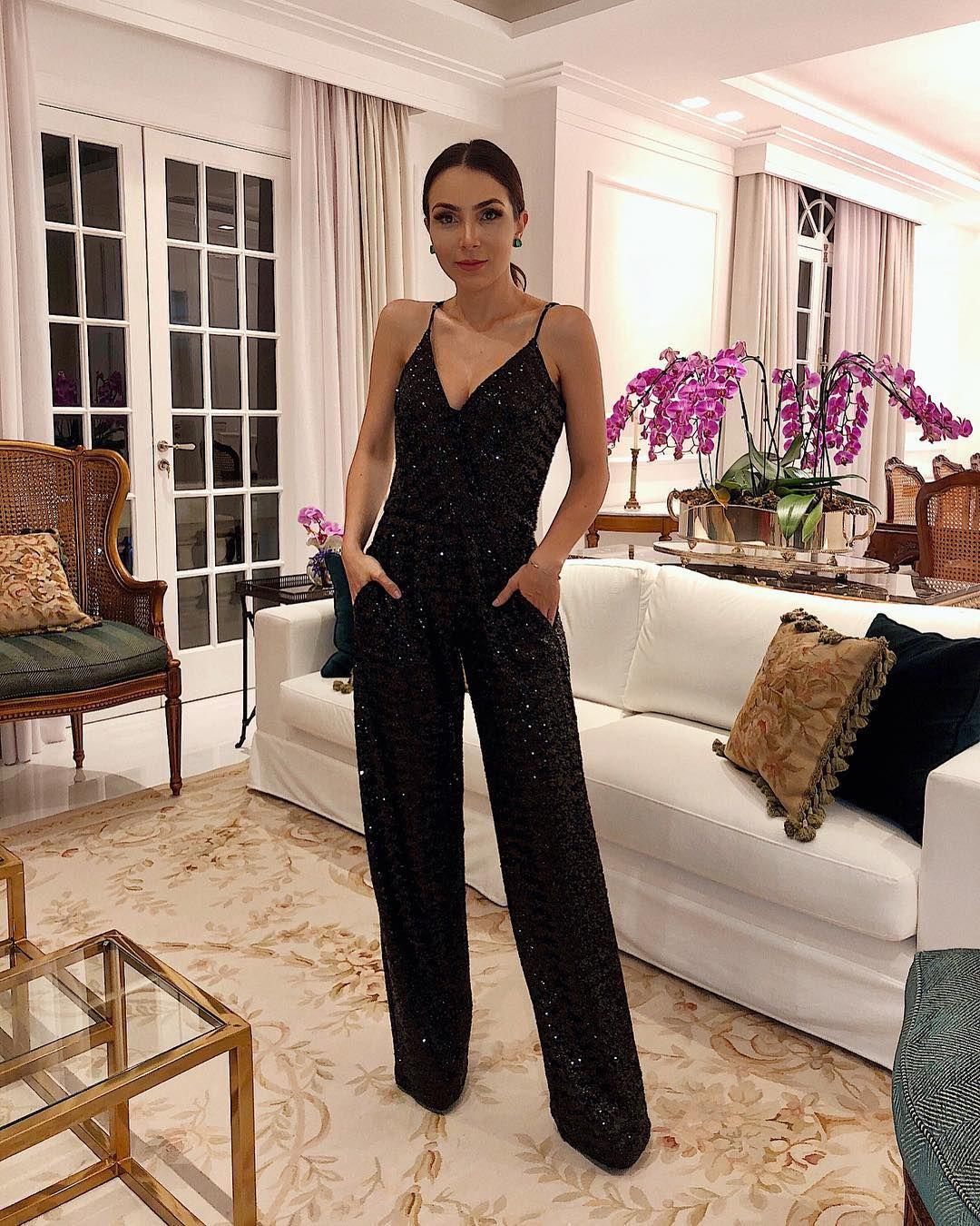 Macacão pantalona  75 looks estilosos que provam a elegância da peça 3c1b056562