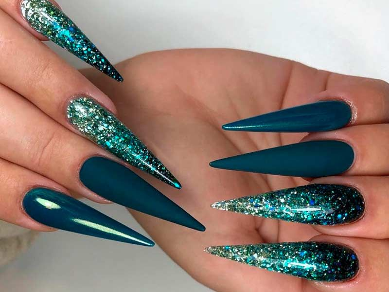Best Stiletto Nails Designs Ideas And Tips For You With Images