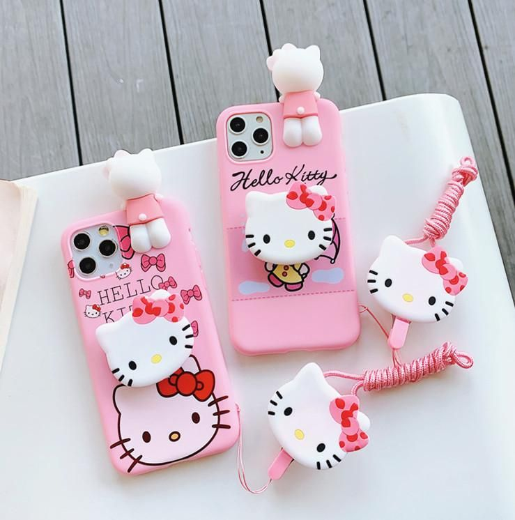 Hello Kitty Phone Case For Iphone 6 6s 6plus 7 7plus 8 8p X Xs Xr