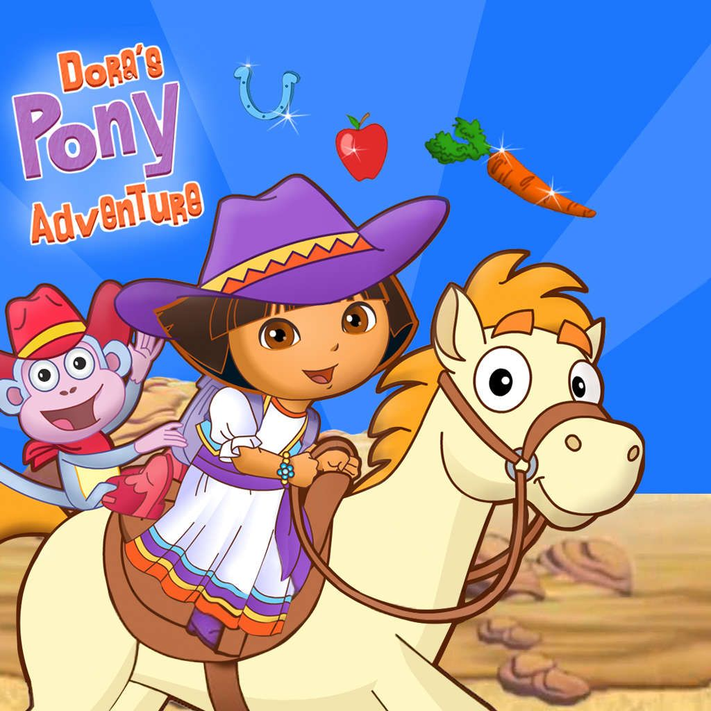 Legend Of The Lost Horses Kids Game Dora And