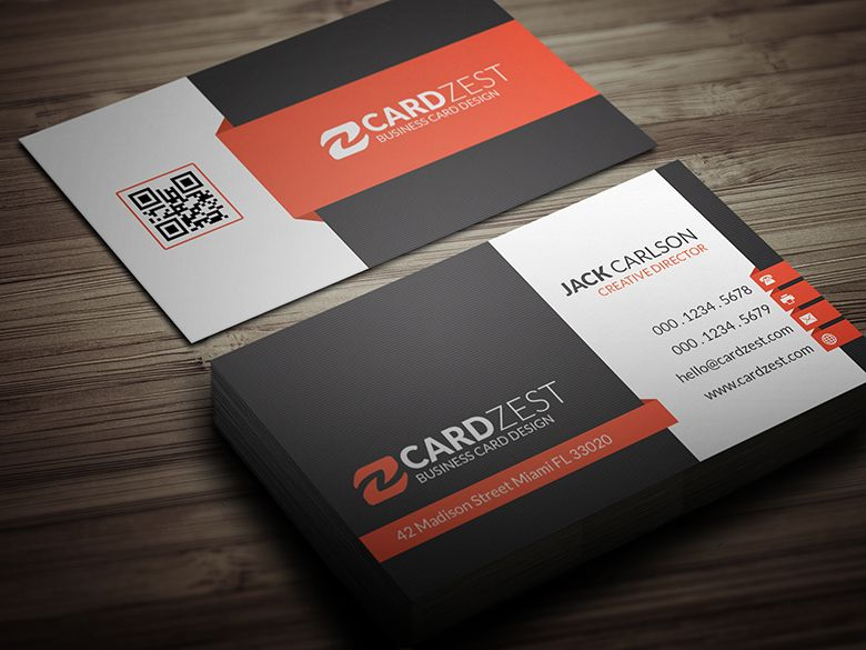 Design Your Two Professional Double Sided Business Card For 15 Fun Business Card Design Sample Business Cards Business Card Design