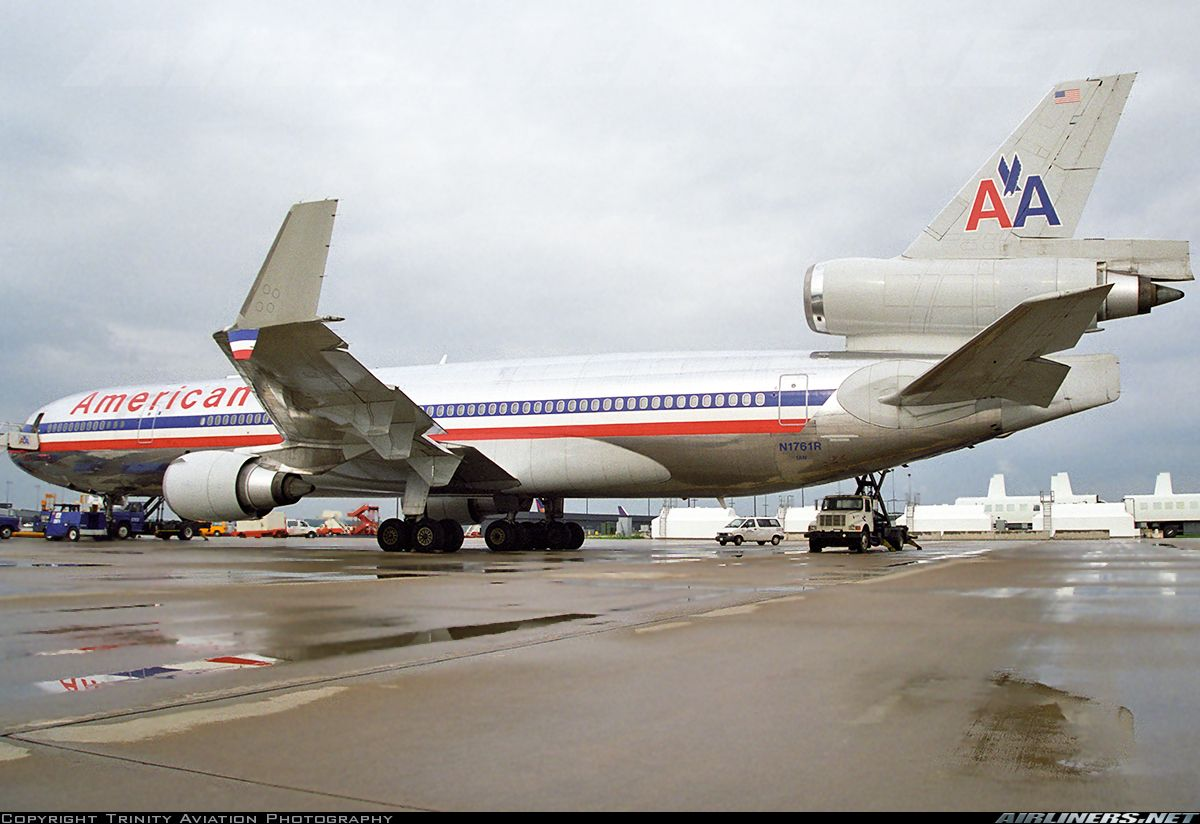 McDonnell Douglas MD11 American Airlines Vintage