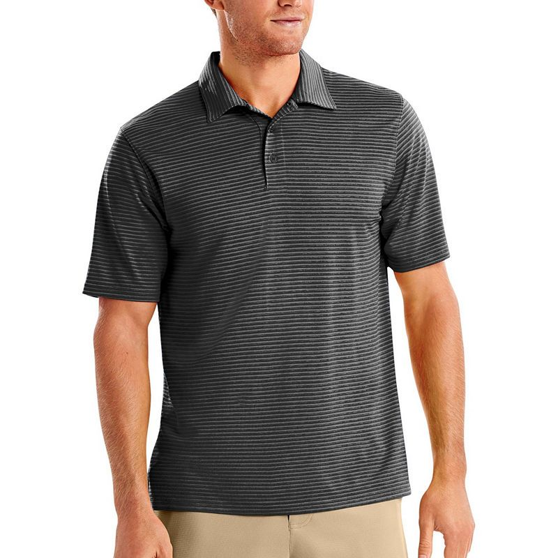 05b0b0165 Hanes Sport Quick Dry Short Sleeve Solid Jersey Polo Shirt ...