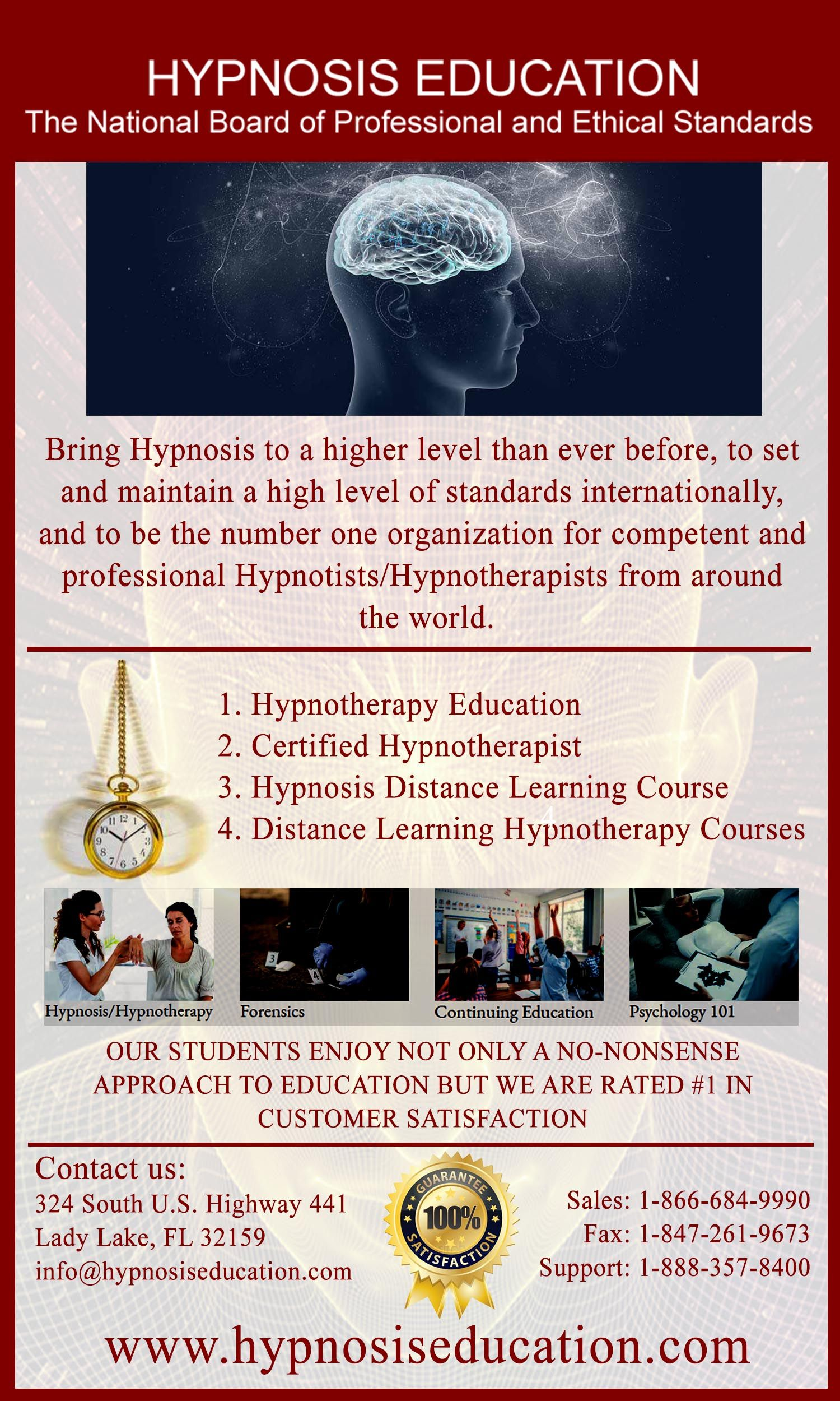 Hypnotherapy Education - Hypnotherapy to Lose Weight