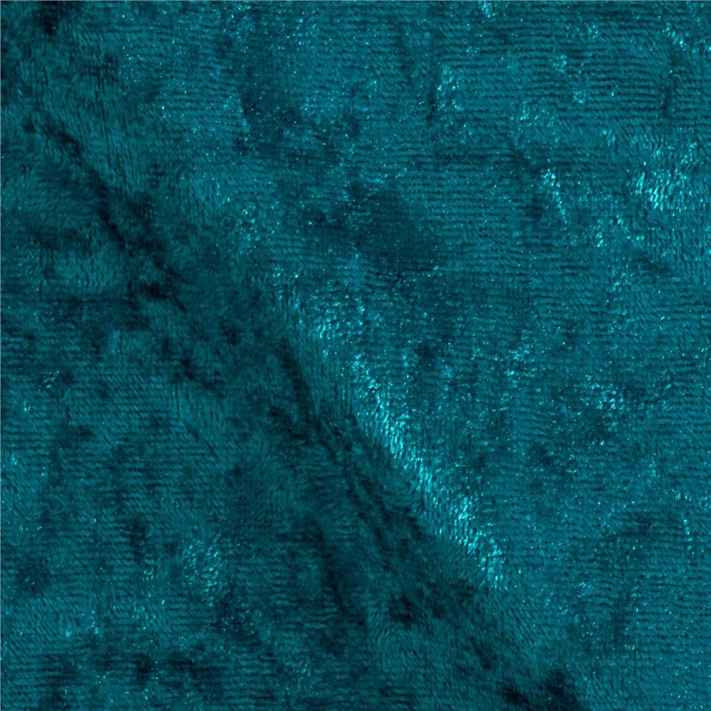 Stretch panne velvet velour teal teal pants turquoise for Velour fabric