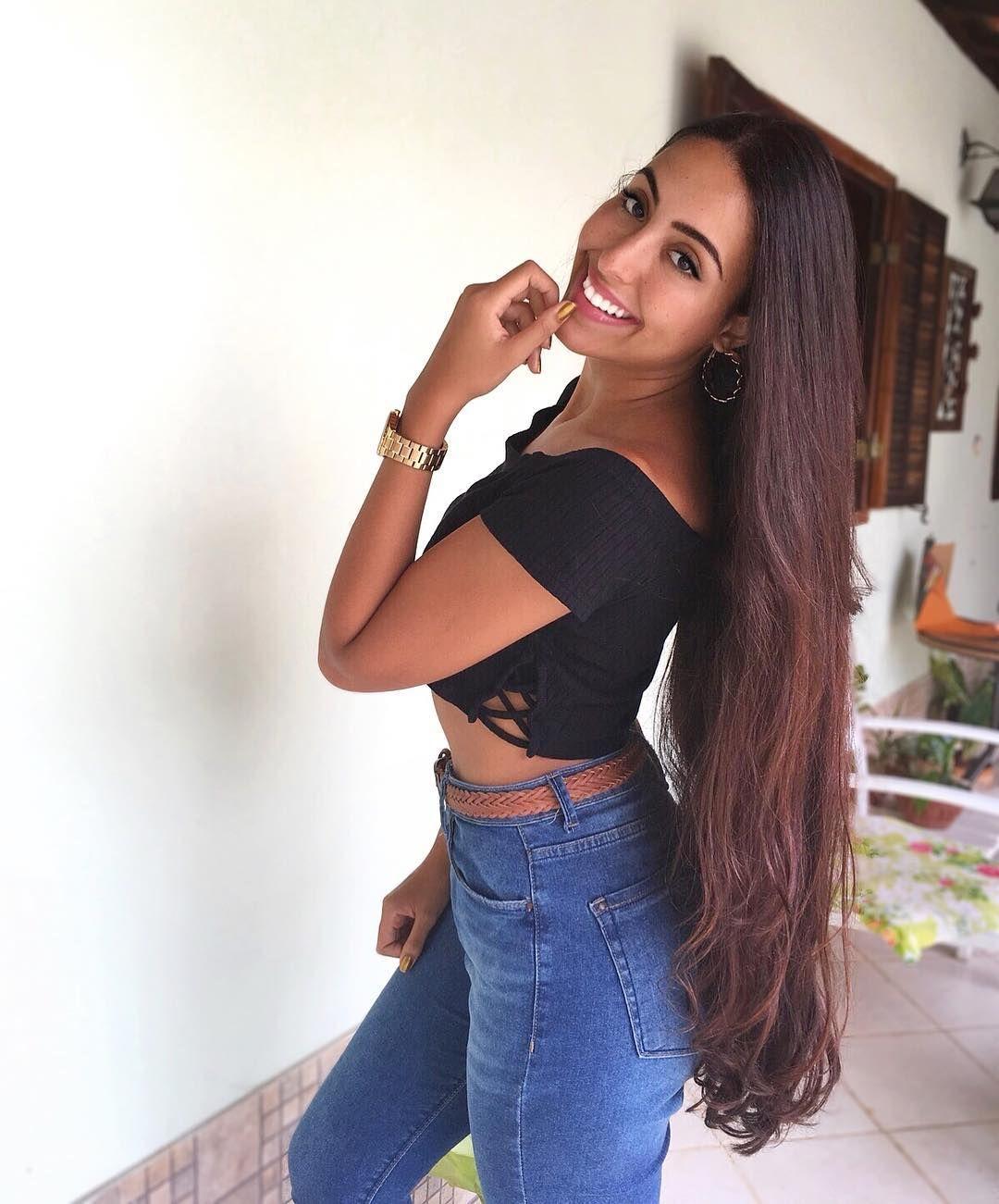#hair #longhair | Long Hair Goals | Long hair styles, Long ...