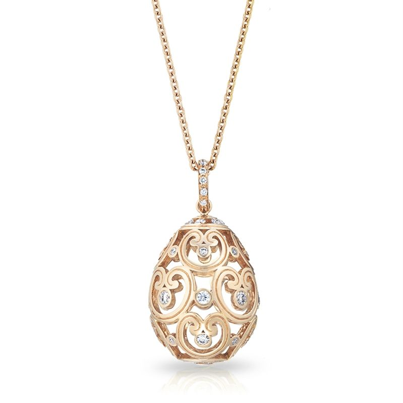 Oeuf impratrice ros faberge this pendant echoing one of empress oeuf impratrice ros faberge this pendant echoing one of empress alexandras favorite elaborate pink aloadofball Gallery