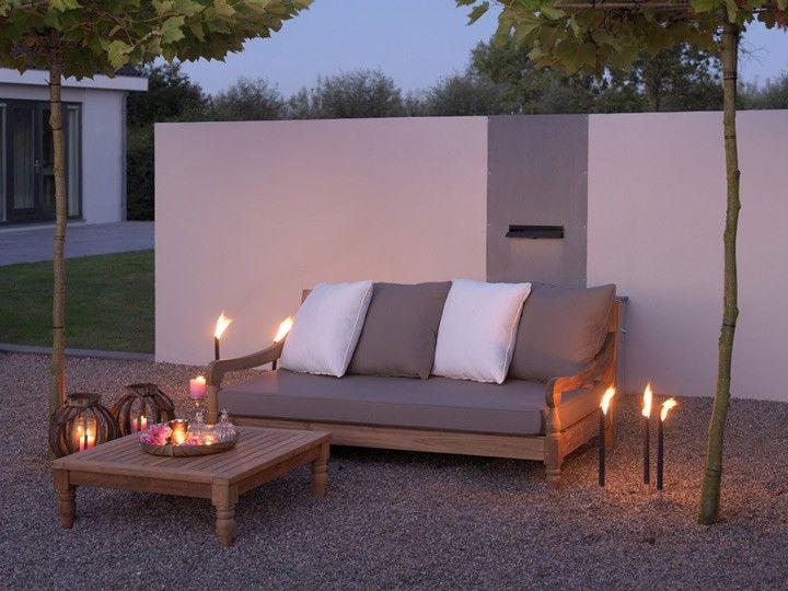 Kawan Xl Lounge Garten Sofa 3 Sitzer Teak Recycled Garten Gartenmobel Gartensofa Gartenlounge Loungegruppe Si Garten Lounge Gartensofa Lounge Gartenmobel