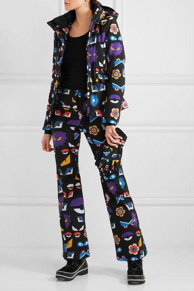 Fendi - Printed Ski Pants - Black  45d5b35a4