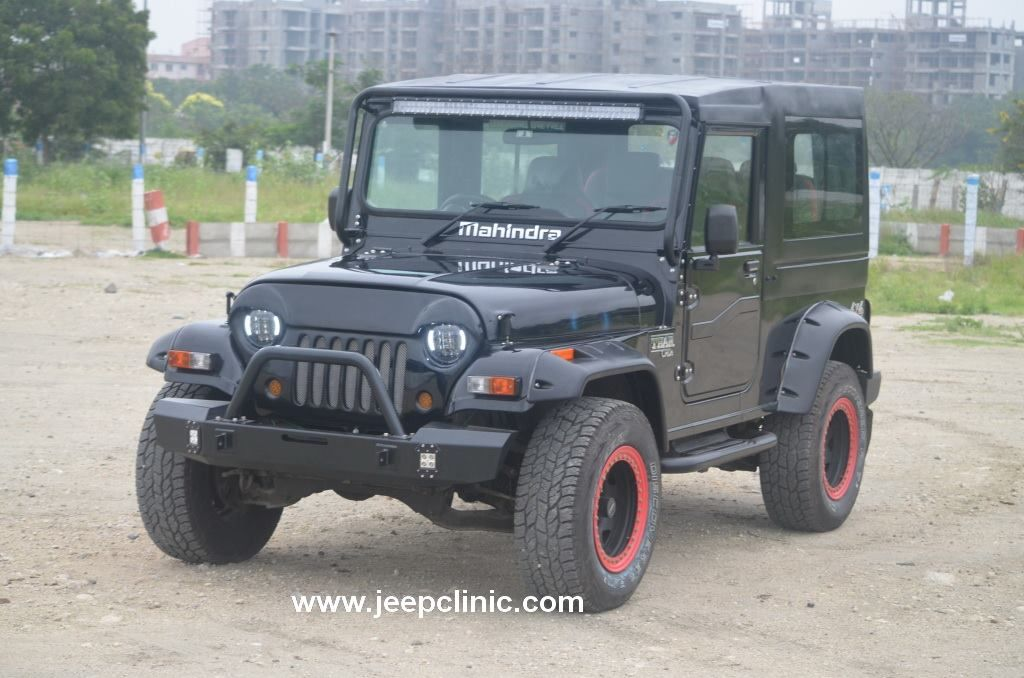 This Mahindra Thar To Jeep Wrangler Conversion Looks Uber Cool