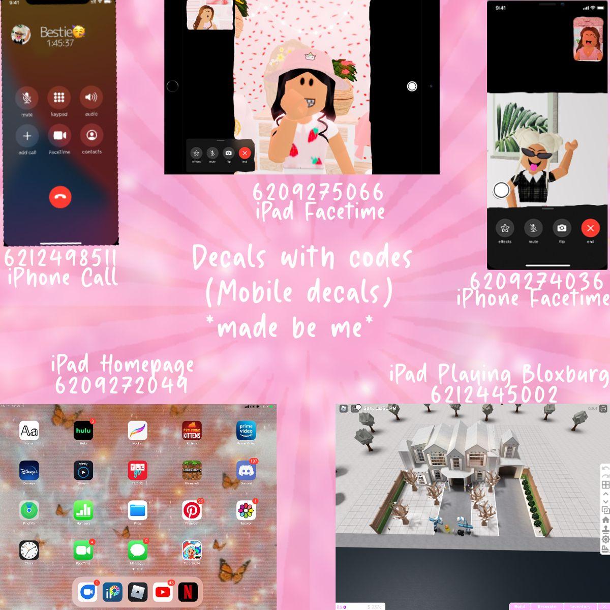 Bloxburg Mobile Decals No Credit Needed In 2021 Bloxburg Decal Codes Bloxburg Decals Codes Ipad Picture