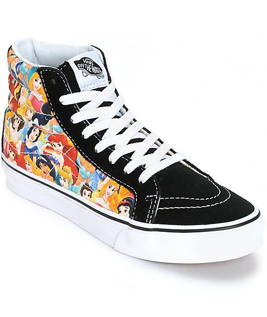 Disney x Vans Sk8 Hi Slim Disney Princess Shoes | Disney