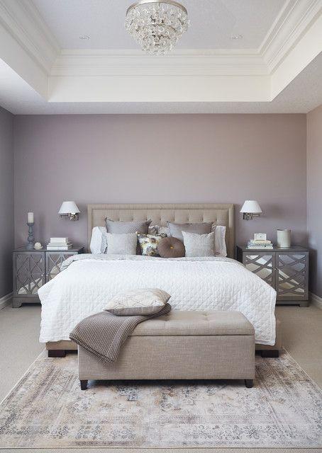 17 brillante Schlafzimmer-Designs, die mit charmantem traditionellem Touch reichlich vorhanden sind #masterbedroompaintcolors