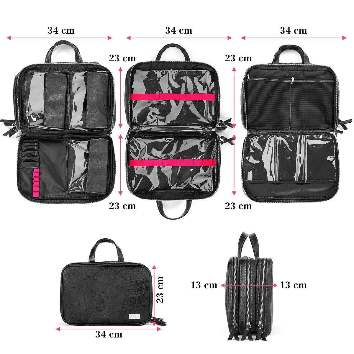 Zoeva Makeup Tote Zoe Bag Endless Storage Opprtunities Https Www Zoeva Shop De En Makeup Tote Zoe Bag A 8000357 Kain