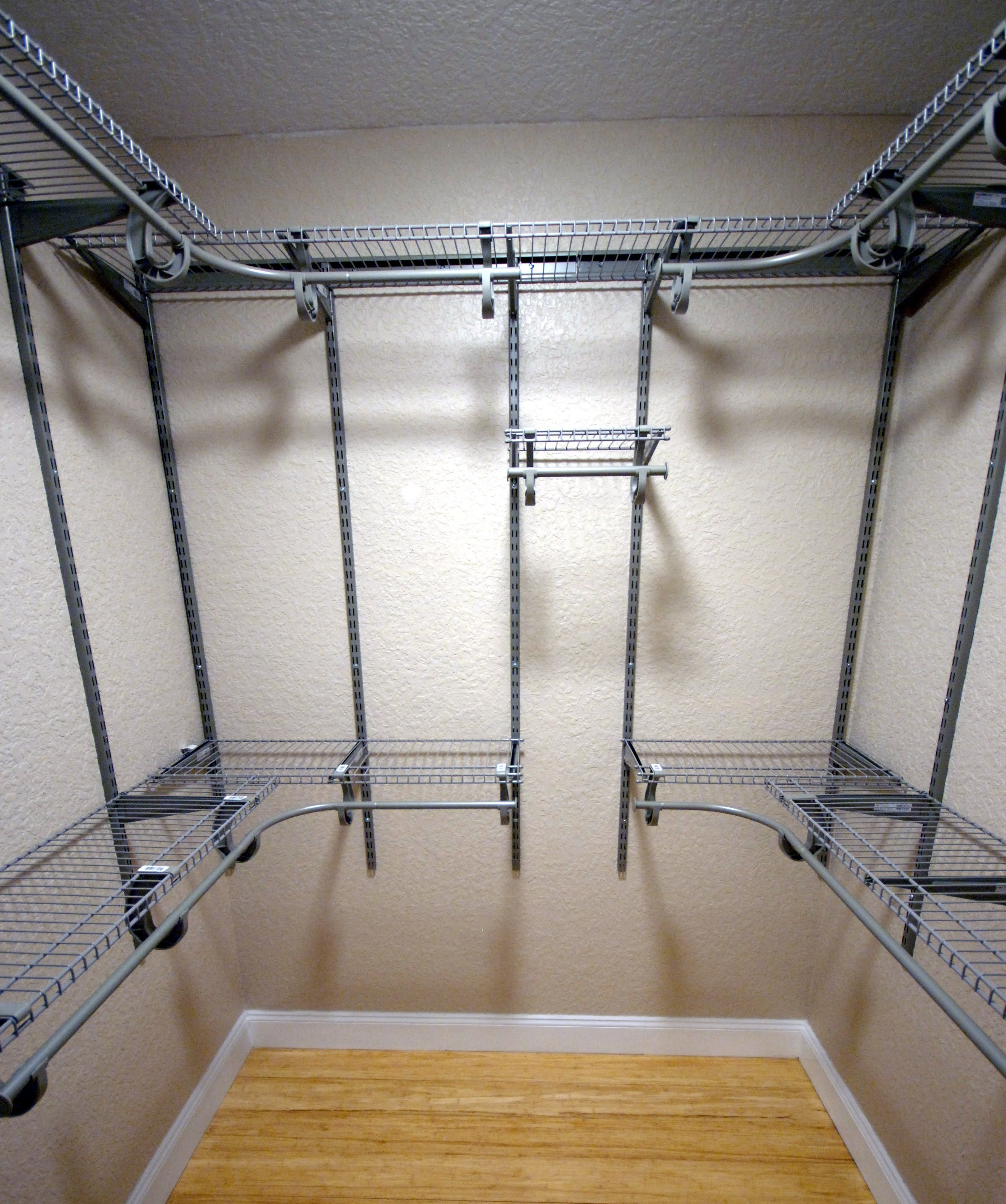How To Organize Install Master Closet Shelving In Small