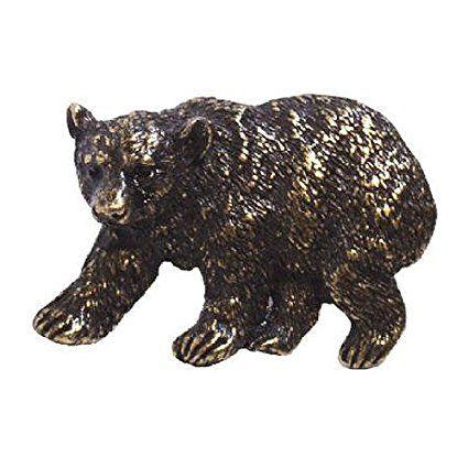 Emenee EE-OR373-ABR Bear Cabinet Knob