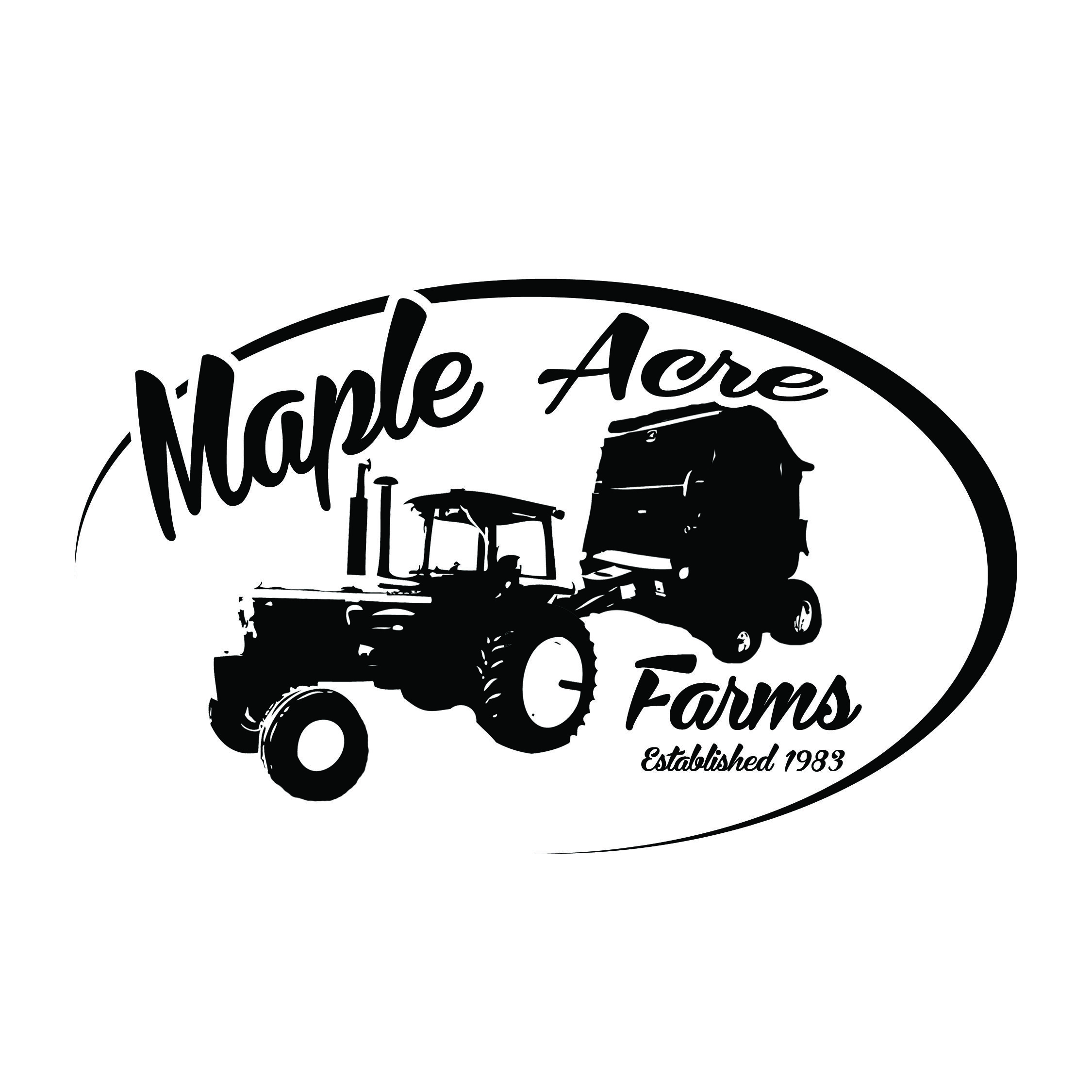 Farm Logo black and white logo design simple farming