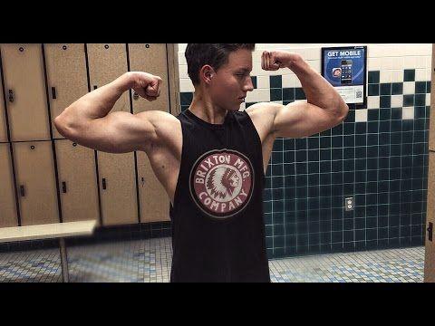 14 Years Old Flexing Teenager Bodybuilders Youtube Old