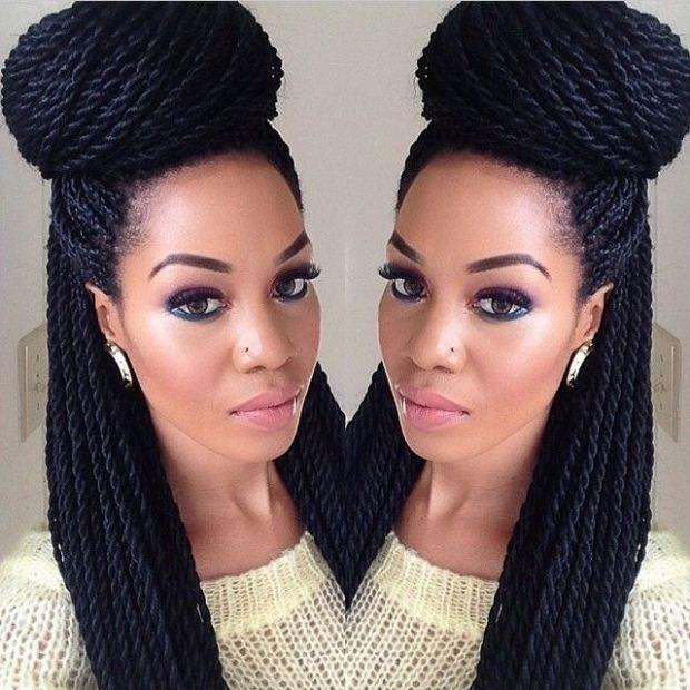 Senegalese Twists Braided Hairstyles Senegalese Twist Hairstyles Natural Hair Styles