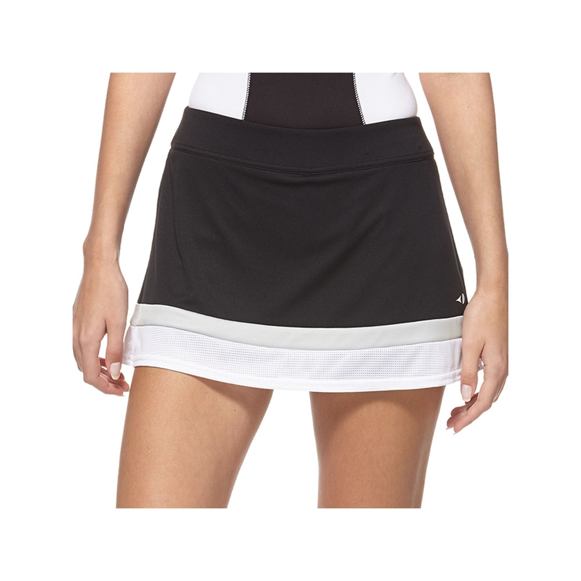 Women's Grand Slam Colorblock Tummy Control Tennis Skort, Size: Medium, Oxford