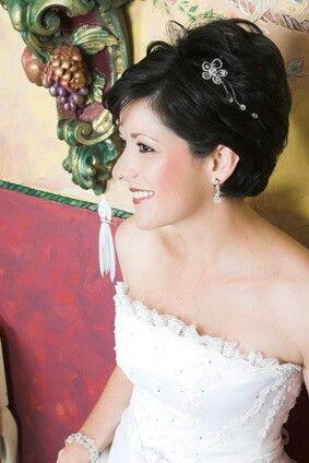 Kurzhaarfrisur Hochzeit  brautfrisur  Kurzhaarfrisuren hochzeit Frisuren Frisuren 2015
