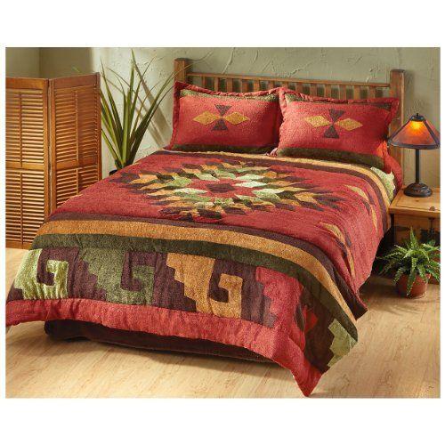 CASTLECREEK San Carlos Chenille Comforter Set, FULL/QUEEN