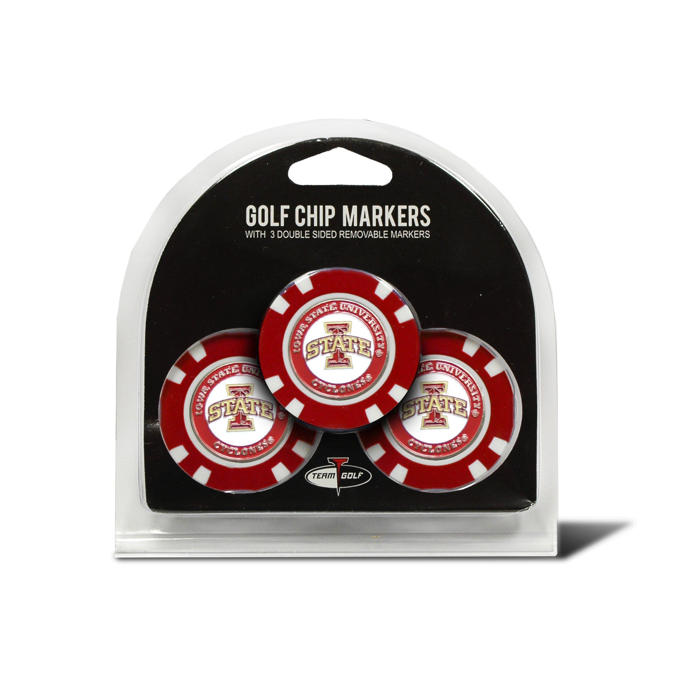 competitive price ed331 f5f1d Team Golf Cincinnati Bearcats 3-pack Poker Chip Ball Markers in 2019    Fashion   Golf chipping, Golf, Cincinnati bearcats