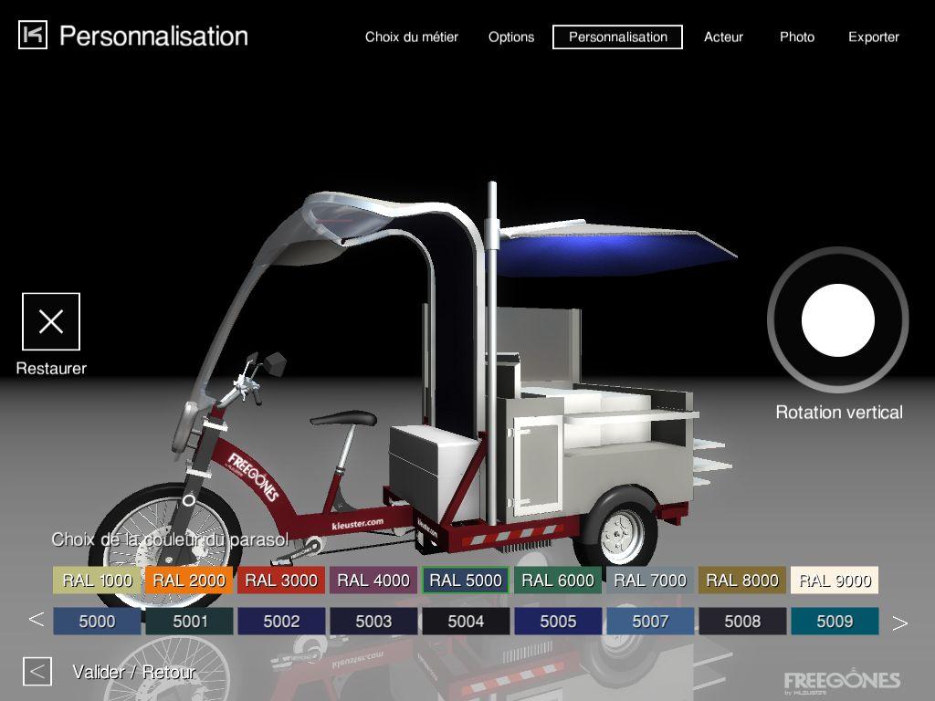 Kleuster Freegones urban electric powered utililty vehicles