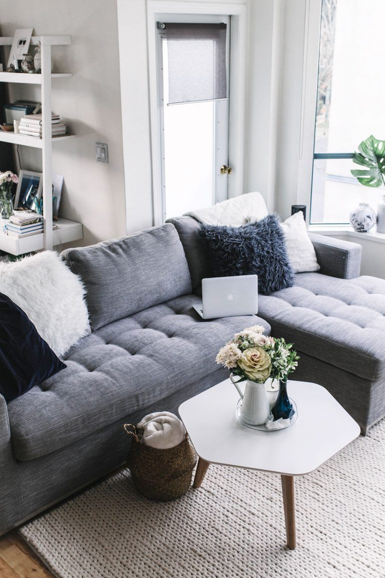 The Ultimate Sofa For Small Spaces To Vogue Or Bust Sofas For Small Spaces Couches For Small Spaces Small Sectional Sofa Couches for small living room