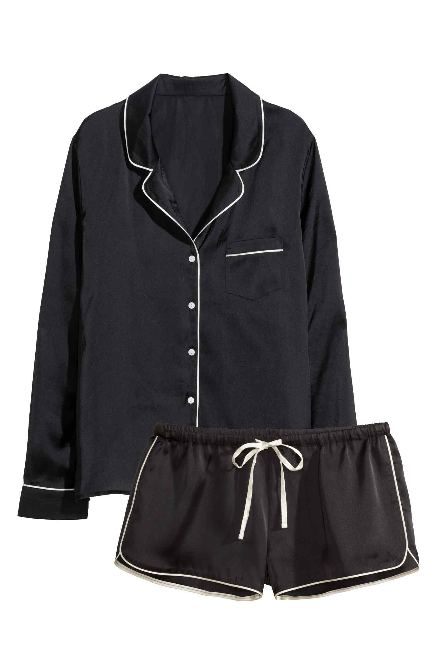 Pyjama en satin | H&M