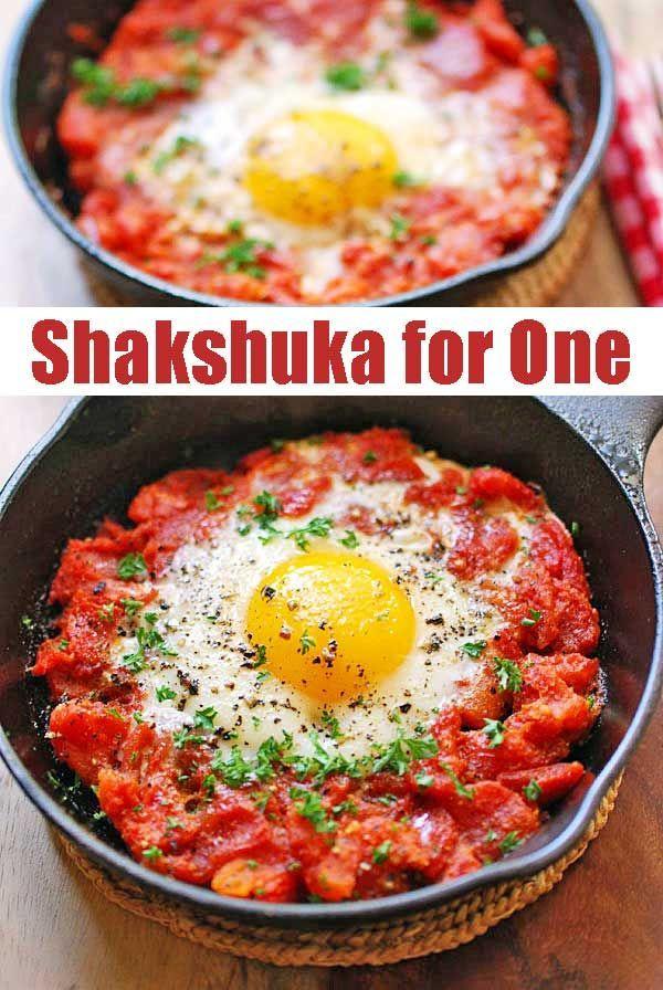 Shakshuka für einen -