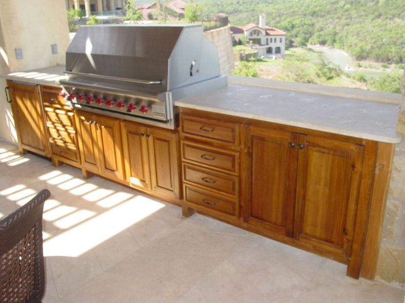 Build Outdoor Kitchen Gallery Marvelous Diy How Cabinets Design