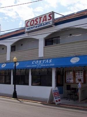Costas Restaurant Tarpon Springs Florida