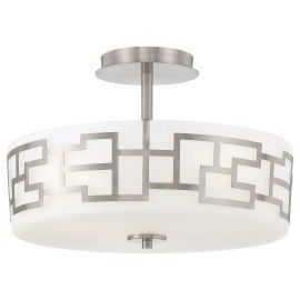 Delightful Metropolitan Lighting Fixture Co. George Kovacs Collection Aleciau0027s  Necklace Semi Flush