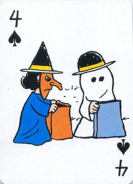 Peanuts Great Pumpkin Playing Cards | Flickr - Photo Sharing!