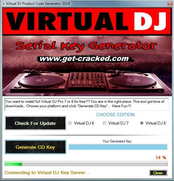 virtual dj pro 8 cracked