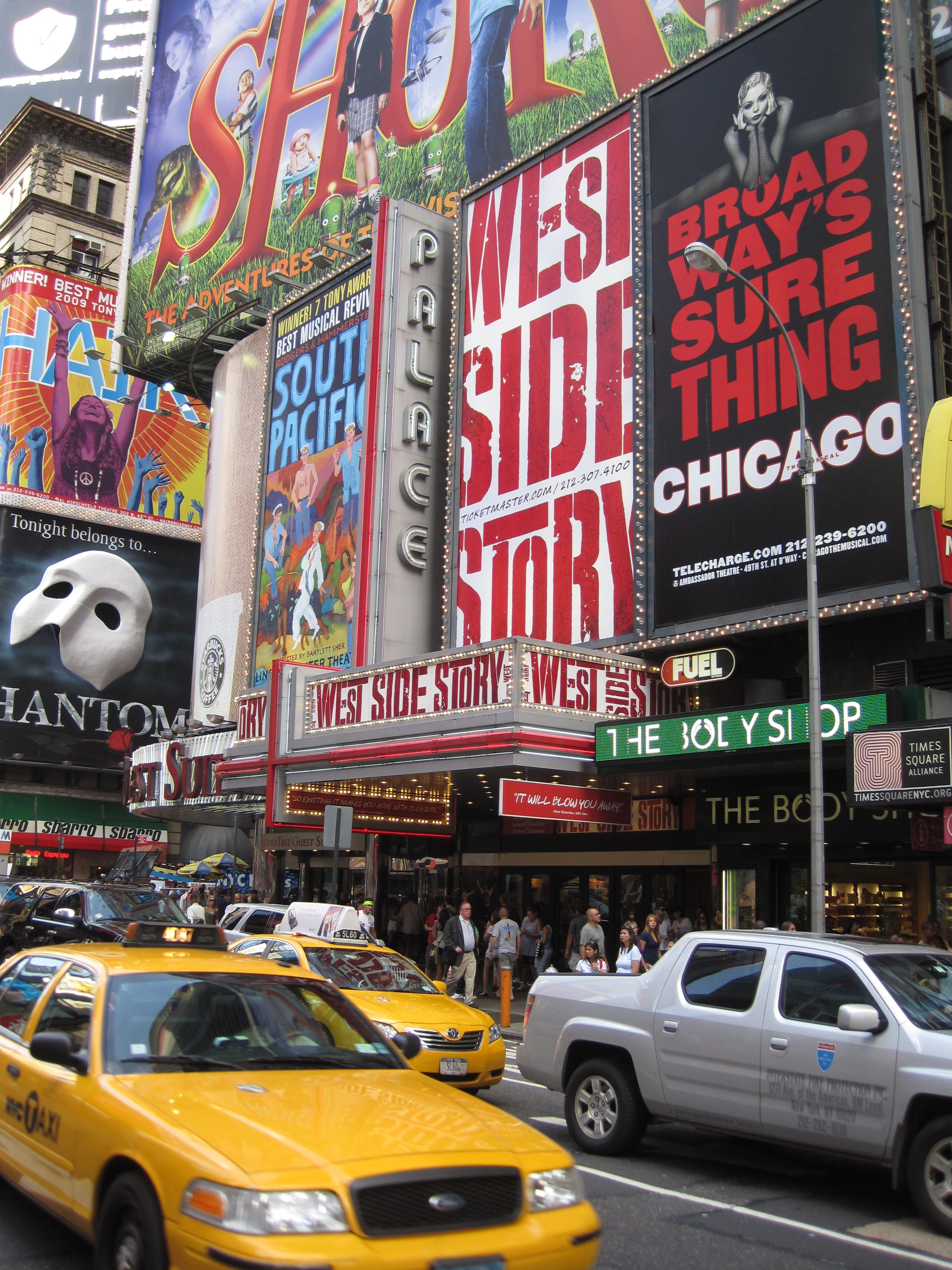 Broadway New York! We saw West Side Story :) | Lady Liberty - NY ...