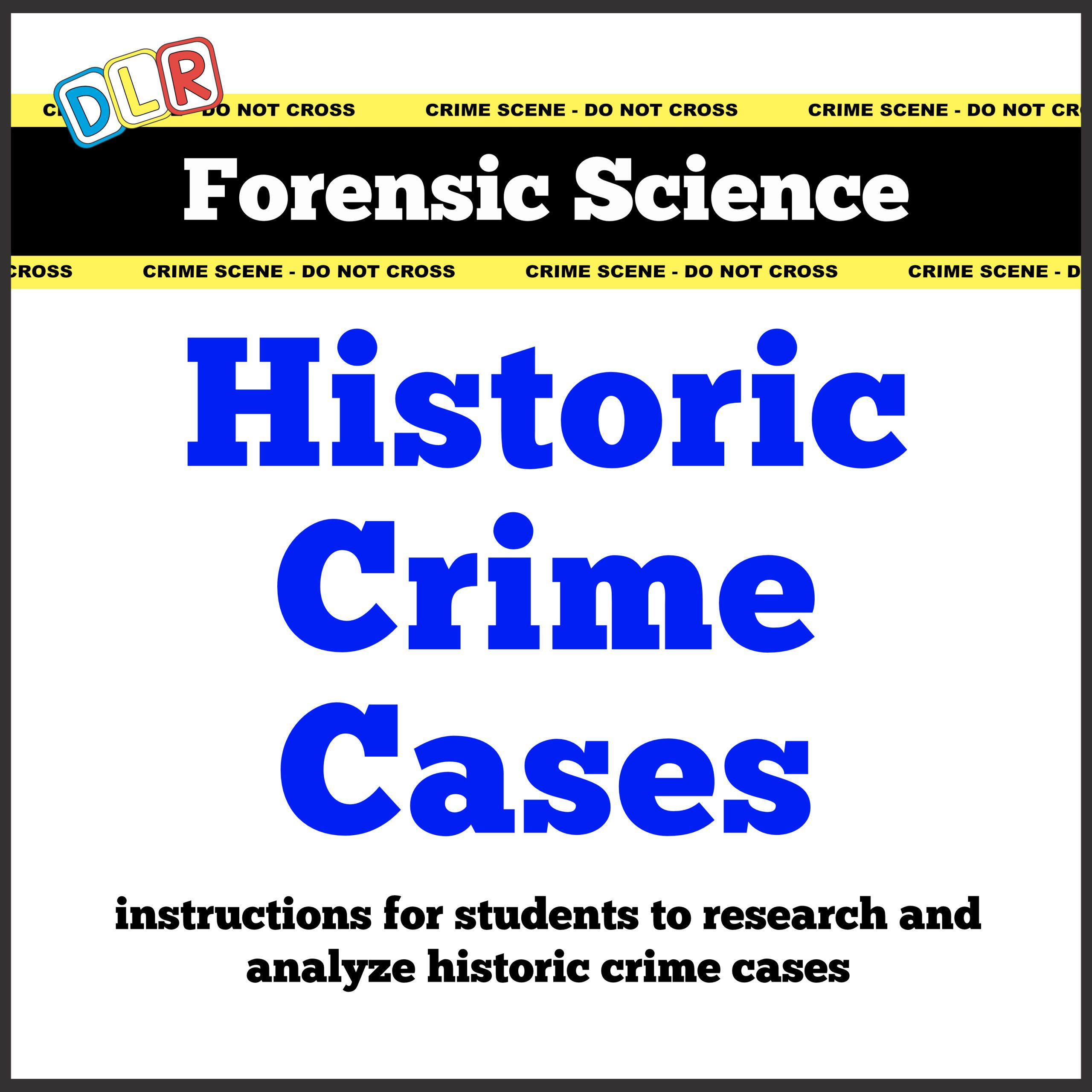 Education Digital Downloads Preschool Worksheets Forensic Science Activities Calendars