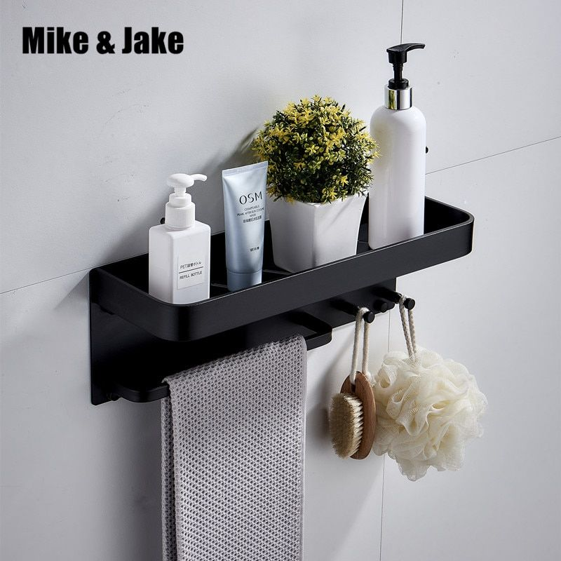 Designo Matte Black Floating Bathroom Shelf 1200 In 2020 Bathroom Shelves Floating Toilet Black Shelves