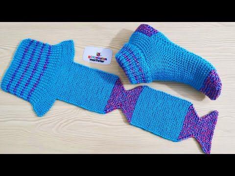 Modèle de tricot de chaussettes très faciles pour femmes   – Patikler