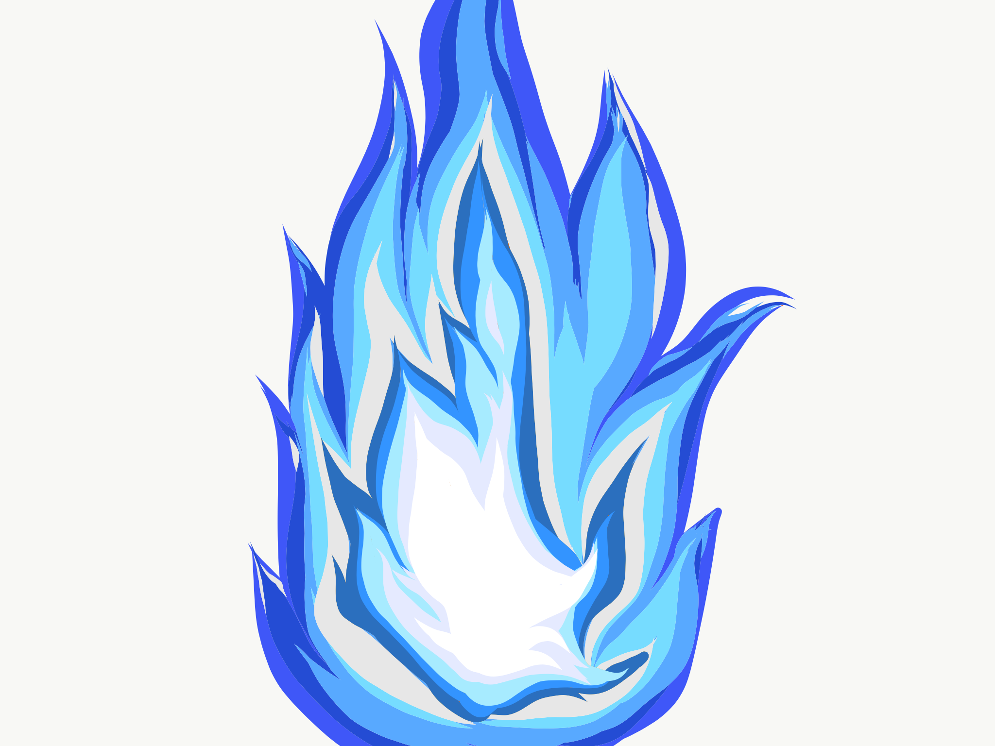 Blaue Flamme Temas Habilidades
