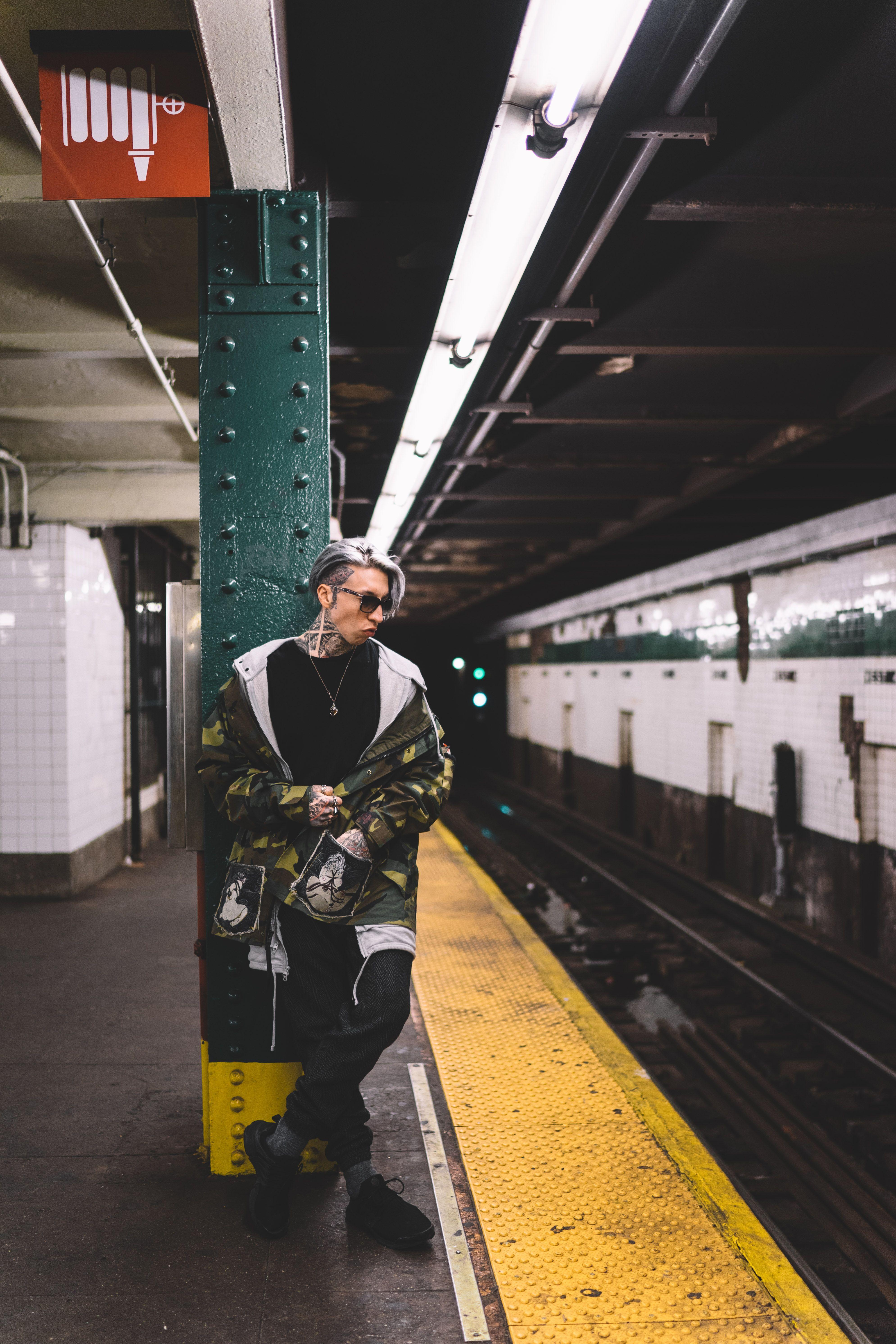#chrislavish #supermodel #inked #inkedmodel #photoshoot #art #style #tattoo #inkmodel #model #tattoomodel #snowstorm #newyork #portrait #fashion #tattoosupermodel #nyclavish #lamodel #subway #stylist #inspiration #art #tats #mta  #fashionblogger #nyc #fashionicon #underground #streetwear #monochrome #arts