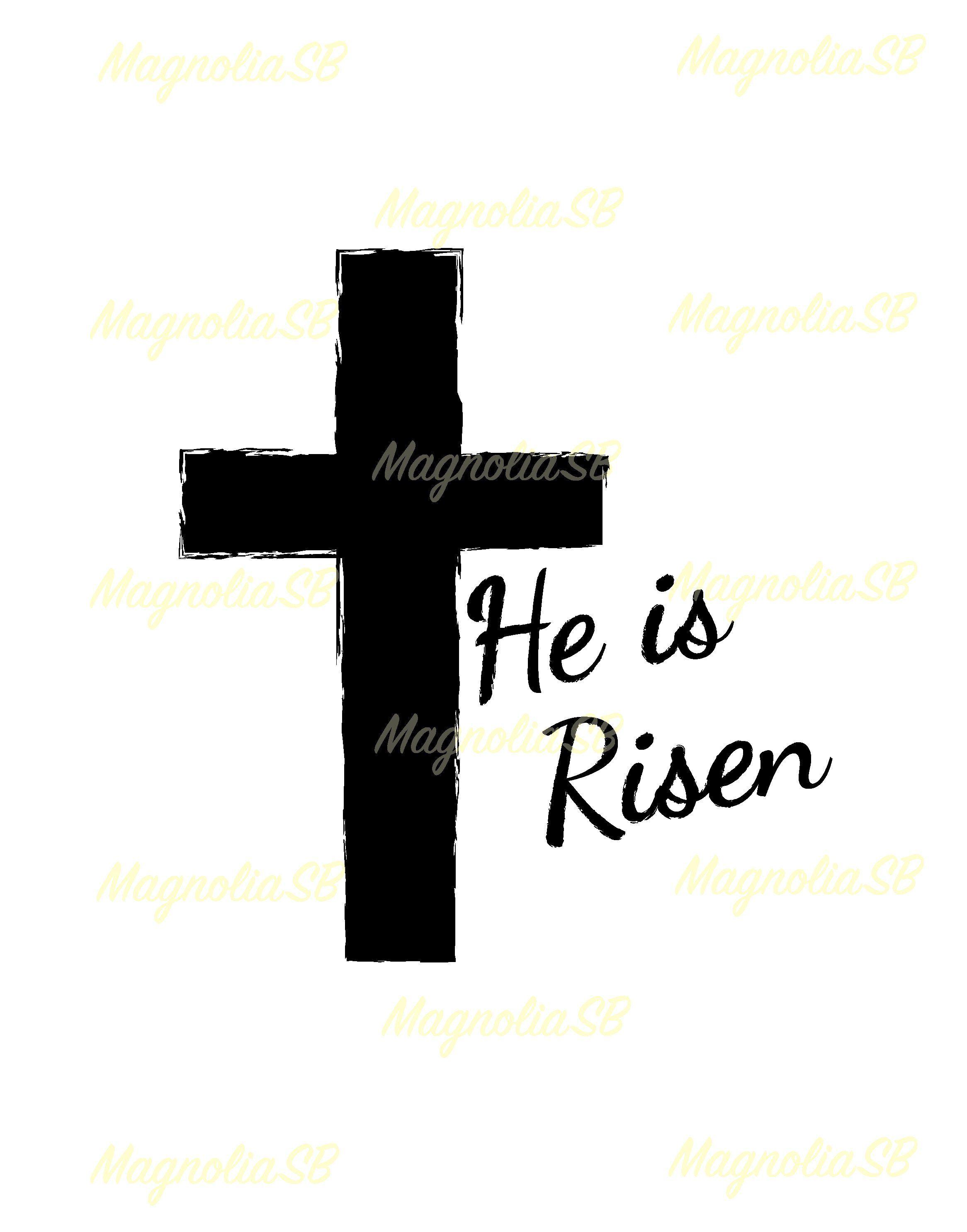 he is risen svg he is risen dxf he is risen clipart cutting easter he is risen vector he is risen shape he is risen silhouette [ 2332 x 2971 Pixel ]