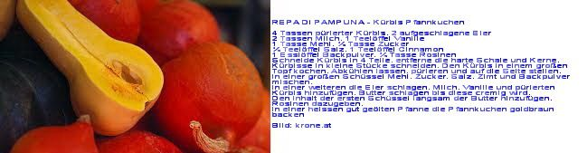 REPA DI PAMPUNA - Kürbis Pfannkuchen aus Curacao